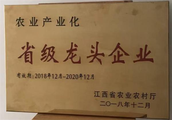 江西省農業產業化龍頭企業